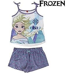 Frozen Elsa - pijama sin mangas 2 piezas 100% algodón (3 años)