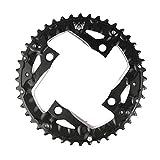 Grofitness 44en alliage d'aluminium Plateau de pédalier pour vélo BCD 104Chaîne de roue, noir