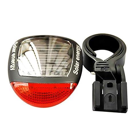 Feux Arrière De Bicyclette,ZXK CO Lampe Solaire Rechargeable Feux Arrière