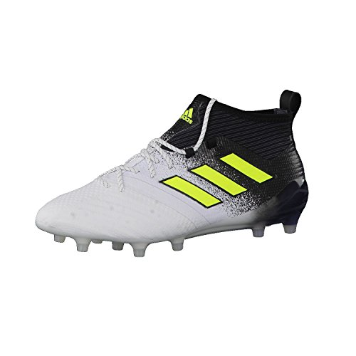 adidas Ace 17.1 Fg, Chaussures de Football Homme Blanc (Footwear White/solar Yellow/core Black)