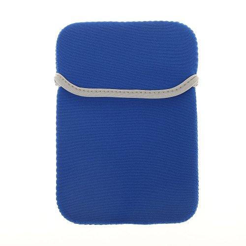 BRALEXX Universal Neopren-Tasche passend für i.onik TP Serie 1 - 7 Zoll, Blau