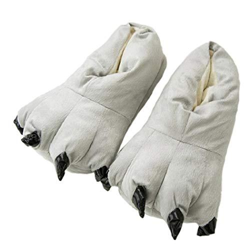 Halloween Winter Hausschuhe Stiefel mit Pfote Warme Weiche -
