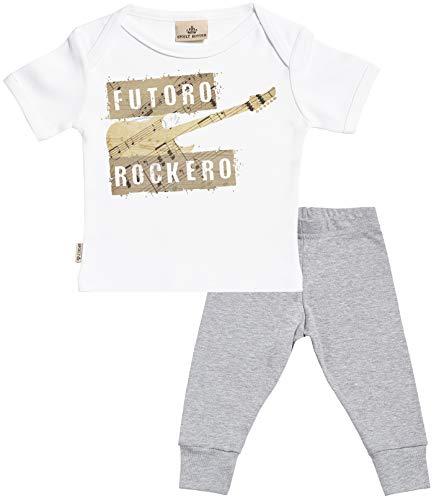 SR - Futuro Rockero Regalo para bebé - Blanco Camiseta para...