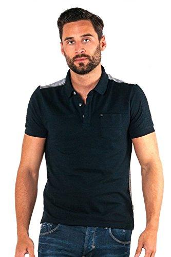 "883 POLICE Benson Polo Shirt | Navy XLarge 42"" Chest"