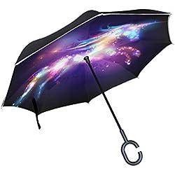 Paraguas diseño de galaxia Grande
