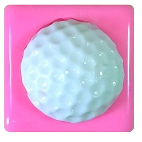 Golf Ball 25 mm Silikon Silikonform für Kuchen dekorieren KUCHEN, Cupcake Topper Zuckerguss Sugarcraft von Fairie, Blessings