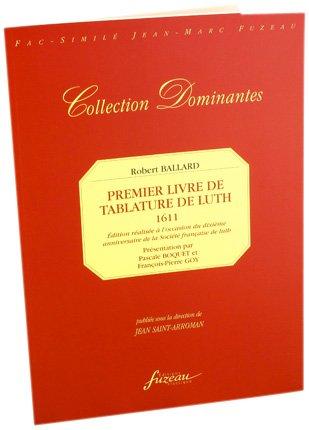 Premier livre de tablature de Luth