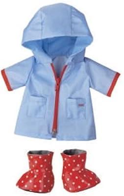 Haba 3668 - Ropa de lluvia para muñeca de 38 cm por Haba