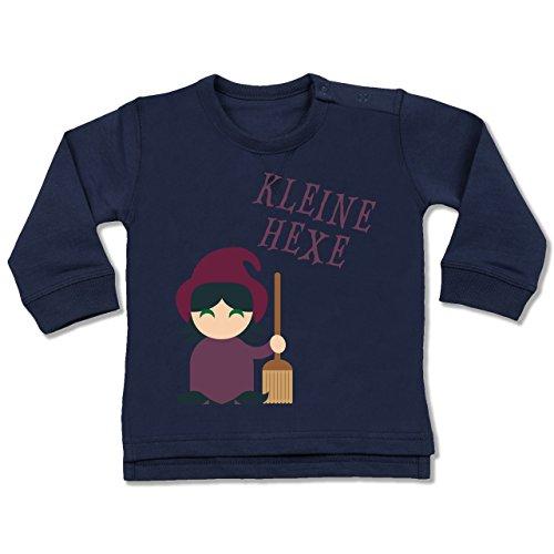 Hexe Kostüm 24 Monate 18 - Shirtracer Anlässe Baby - Kleine Hexe süß - 18-24 Monate - Navy Blau - BZ31 - Baby Pullover