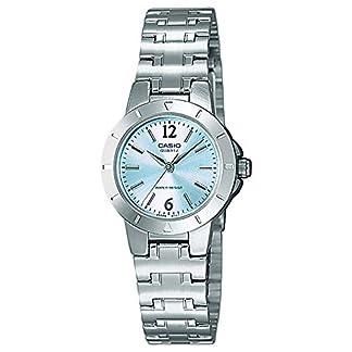 Casio Reloj Analógico para Mujer de Cuarzo con Correa en Acero Inoxidable LTP-1177PA-2AEF