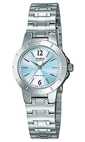 Casio Damen Analog Quarz mit Edelstahl Armbanduhr LTP 1177PA 2A