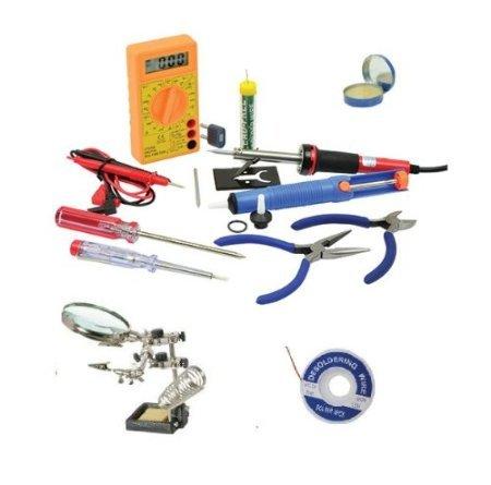 sivitec-40w-soldering-iron-starter-kit-15-piece-heavy-duty-helping-hands-multitester-desoldering-pum