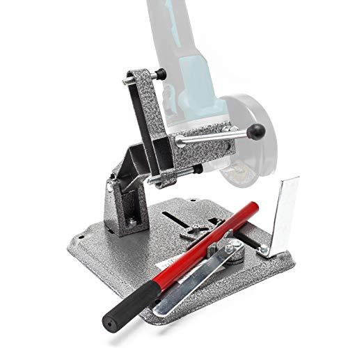 Trennständer für Einhand Winkelschleifer 115/125mm Halterung für Winkelschleifmaschinen Ständer