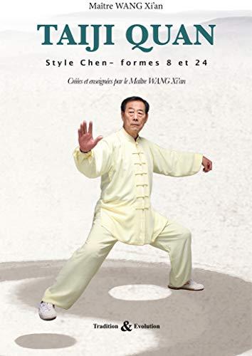 Taiji quan style Chen : Les formes 8 et 24 (1DVD)