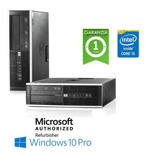 'PC HP Compaq 8100 Elite Core i5 - 650 3 2 GHz RAM 4 Go 250 Go Windows 10  Professional avec Licence Nouvelle Originale La mer Microsoft Authorized