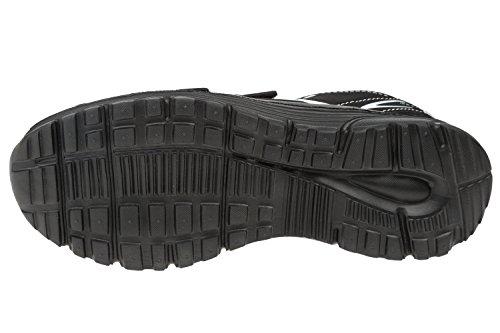 Gibra Scarpe Sportive Con Velcro, Nero, Taglia 36-41 Nero