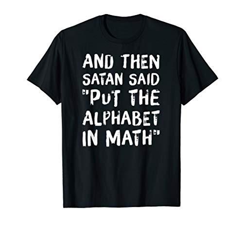 Mathematik Ist Scheisse Mathe Spruch Abispruch Tshirt