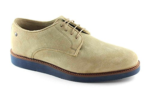 BASE LONDON GARRICK QH02123 man smooth suede derby shoes 45