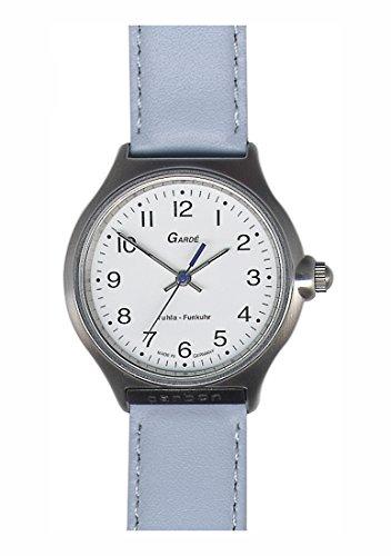 Garde Uhren aus Ruhla Funkuhr Damenfunkuhr 30-74Eisblau
