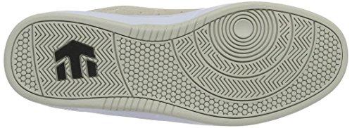 Etnies the Scam White, Chaussures de Skateboard Homme Ivoire (White 100)