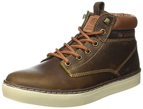 Dockers 33ec010-110410, Sneaker Homme Marron (reh)