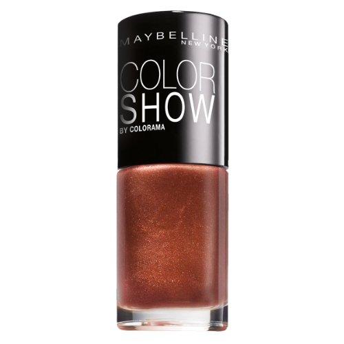 Maybelline New York Make-Up Nailpolish Color Show Nagellack Brick Shimmer / Ultra glänzender...