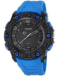 Calypso Watches K5699_3 - Reloj Digital Para Hombre, color LCD/Azul