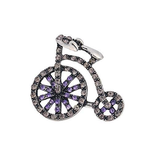 ZZ-SEN-RAN-DIAN-ZI Kreative Brosche Fahrrad Fahren Kleidung Dekorative Pin (Color : A)