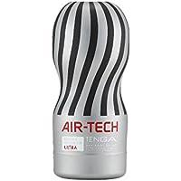Tenga Air Tech Ultra, Funda Masturbadora, 10cm x 18 x 7 cm, Color Gris / Negro - 361 gr