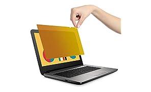 """VistaProtect - Filtro Privacy Premium d'oro, Pellicola de Protezione per Laptop e Computer Portatile (15.6"""" Pollici - Gold)"""