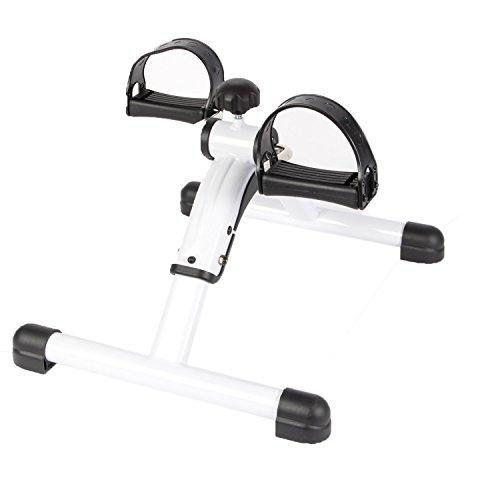 POWRX Minibike I Mini Heimtrainer Arme und Beine I Stepper Pedaltrainer