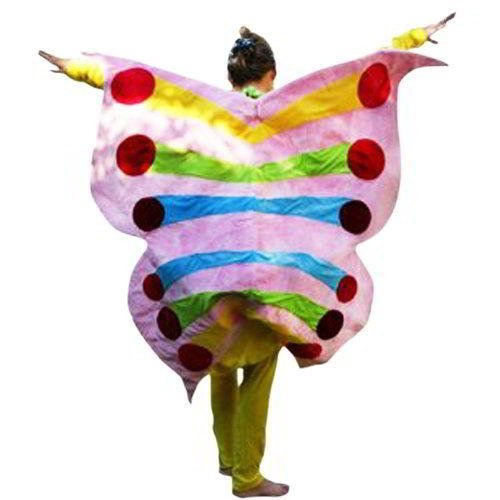 Kostüm Nimmersatt Die Raupe (Su34A Schmetterling Kostüm Karneval Schmetterlingkostüm Kostüme Fasching)
