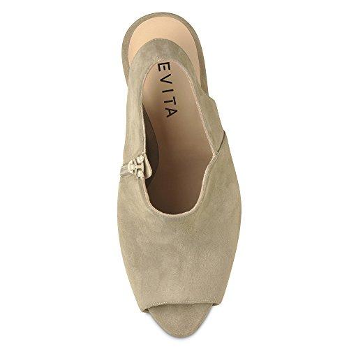 BEPPINA sandales femme daim Beige