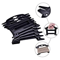 BUZIFU 5 Pcs Paracord Line Winder Rope and Cord Organizer Rope Winder Parachute Cord Keeper Rope Organizer Spool Tool for Paracord, Rope, Twine, Fishing Line, Prevents Tangles Knots Recoils and Kinks