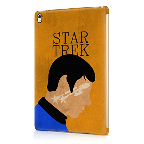Star Trek Spock Portrait Hard Snap-On Protective Case Cover For Apple iPad Pro 9.7