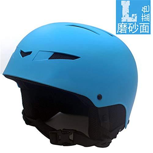 J16 Marke Armee Mann/Frau / Kinder Ski Helm Skateboard Roller-Skating Snowboard Helm Schnelle Moto Bike Radfahren Sport Sicherheit Maske Blue 59-63cm