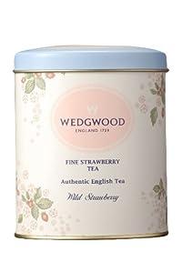 Wedgwood Wild Strawberry Fine Caddy, 100g, White