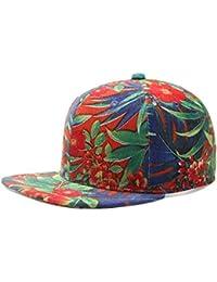 Daliuing Gorra de Béisbol para Hombre Mujer Sombrero UV Transpirable Gorra  de Deport Gorro Plano Hat 3c8124673d8