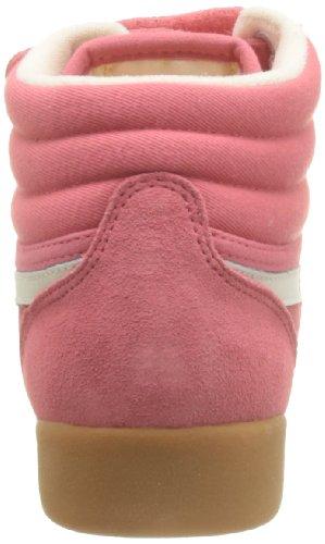 Reebok F/S Hi Suede, Baskets mode femme Rosa (Pink (VICTORY PINK/CHALK))