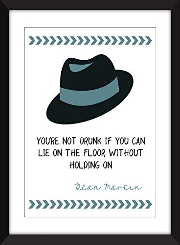 dean-martin-drunk-quote-unframed-print