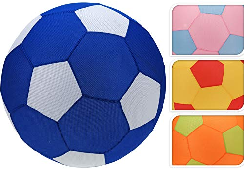 Bahia Vista Großer XXL NEON Strandball, 60cm Neopren Wasserball, Bouncing Ball, Farbe: Pink