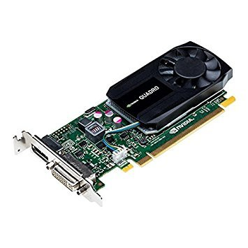PNY NVIDIA Quadro K620 2GB DDR3 DVI/DisplayPort Low Profile PCI-Express Video Card