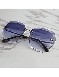 GCR Occhiali Da Sole Ombra Polarizzante Occhiali Nuovo Rivestimento Riflettente Hipster Retrò Moda Occhiali Da Sole Rotondi , D