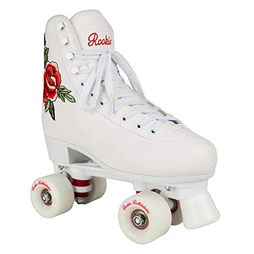 Rookie Rollerskate Pink Skate, Damen, Damen, RKE-SKA-2704, weiß, 39.5
