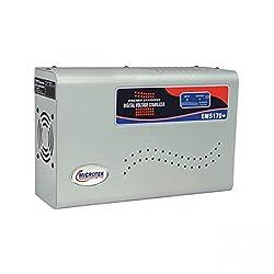 Microtek EM5170+ 170-290V Digital Voltage Stabilizer (Metallic Grey)