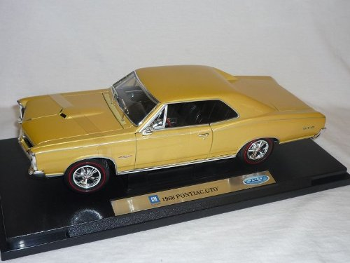 pontiac-gto-1966-coupe-gold-beige-1-18-welly-modellauto-modell-auto