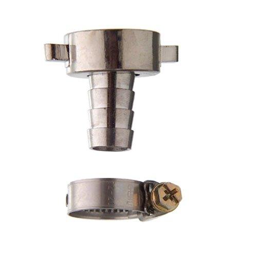 Cornat TEC308001 Raccord à vis pour tuyaux 3/4'', connexion 1/2'', chromé Multicolore