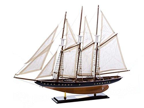 Modellschiff Atlantic Segelschiff Segelyacht Yacht Schiffsmodell Schiff 71cm
