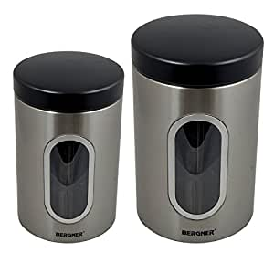 Bergner Canister, 2-Pieces