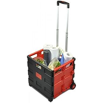 UPP® Shopping Cart mit Deckel / Einkaufswagen
